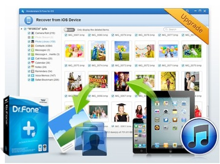 iOS Data Recovery, recover ios data