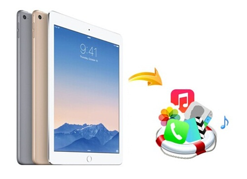 recover lost data on ipad air 2