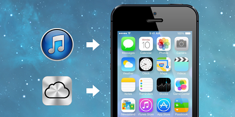 restore iphone after updating to ios7
