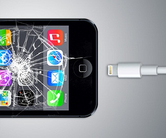 how to crash iphone 4