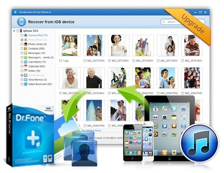 iOS data recovery, recover data from iOS devices